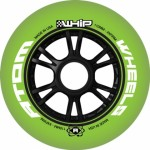 Atom Whip Green/Black XFirm Inline Speed Wheels 100mm, 110mm - Closeout