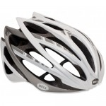 Bell Gage Helmet White Stripes