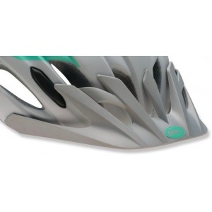 Bell Event XC Visor Matte Silver Mint Speed Fade
