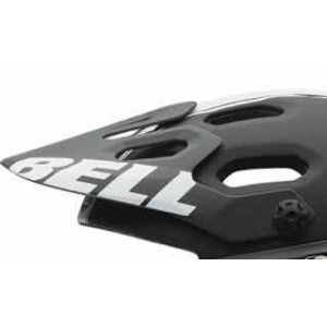 Bell Super2 Visor Replacement Black/White Viper