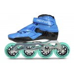 Bont Alpha Inline Speed Skate Blue 2-Point