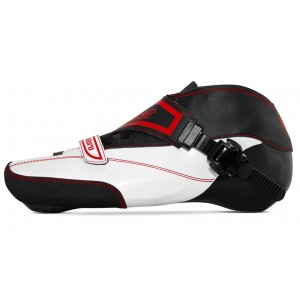 Bont Enduro Inline Speed Boot White/Black Size 1-3