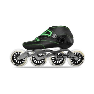 Bont Enduro Inline Speed Skate Black/Green