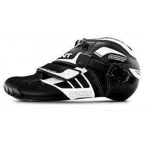 Bont Z Inline Speed Boot Black/White 165mm Mount