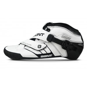 Bont Z Inline Speed Boot White/Black 165mm Mount