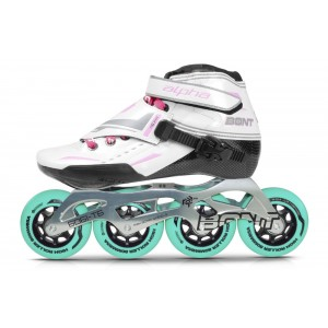 Bont Alpha Inline Speed Skate Pink 2-Point
