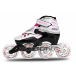 Bont Alpha Inline Speed Skate Pink 3-Point