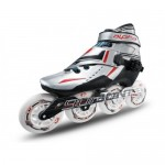 Bont Alpha Inline Speed Skate Silver 3-Point