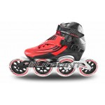 Bont Semi-Race Inline Speed Skate Red