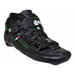 Luigino Challenge Black Inline Speed Skate Boot