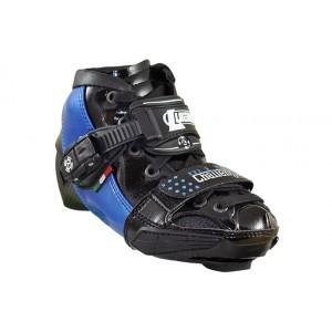 Luigino Kids Mini Challenge Adjustable Inline Speed Skate Boot Blue