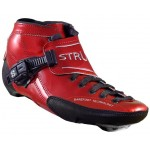 Luigino Strut Red/Silver Inline Speed Skate Boot