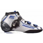 Powerslide R2 Inline Speed Boot Silver/Blue/Black - Closeout