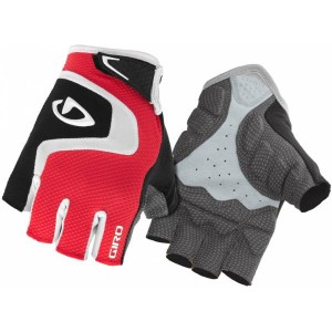 Giro Bravo Cycling Gloves Red/Black