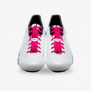 Giro Shoe Laces Coral Pink