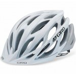 Giro Athlon Helmet Matte White/Silver Flames Medium - Closeout