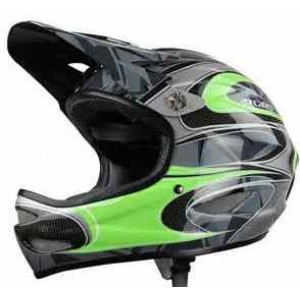 Giro Remedy S Helmet Visor Kit Green/Carbon Replacement