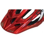 Giro E2 Visor Red/White Replacement