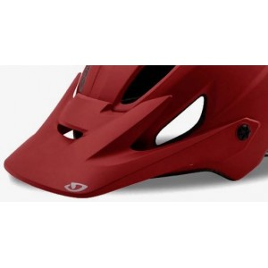 Giro Chronicle Visor Matte Dark Red