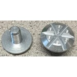Giro Disciple Visor Bolt Kit Silver Replacement