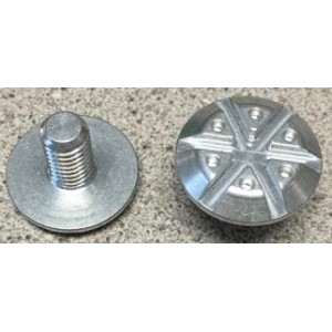 Giro Cipher Visor Bolt Kit Silver Replacement