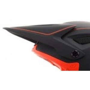 Giro Disciple Visor Matte Black/Vermillion Replacement