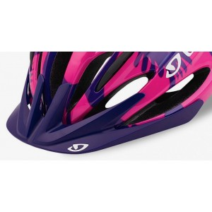 Giro Raze Visor Berry Blue Flowers