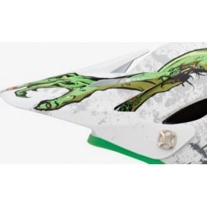 Giro Remedy Visor White Green Zombies