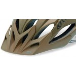 Giro Xar Visor Matte Metallic Brown Orange Bars