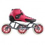 Luigino Strut Inline Speed Skate Black/Pink 3 Wheel