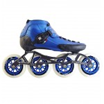 Luigino Strut Outdoor Inline Speed Skate Blue/Black 4 Wheel