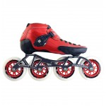 Luigino Strut Outdoor Inline Speed Skate Red/Black 4 Wheel