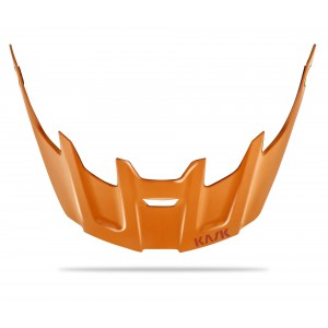 Kask Rex Visor Orange Rust Logo