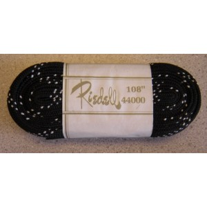 Skate Laces Riedell Black White Specks 108""