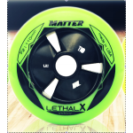 Matter LETHAL X Inline Speed Wheels F2 Green 100mm, 105mm (2017)