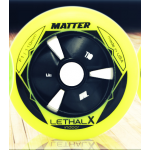 Matter LETHAL X Inline Speed Wheels F1 Yellow (2017)