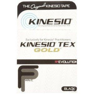Kinesio Tex Gold Tape Black