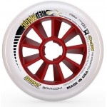 Bont Red Magic Inline Speed Wheels Firm