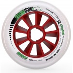 Bont Red Magic Inline Speed Wheels XFirm 100mm, 110mm