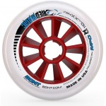 Bont Red Magic Inline Speed Wheels XXFirm