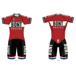 Bont Inline Skate Skinsuit Retro Neo Racing Suit