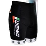 Luigino Racing Shorts Black/White YSmall, YMedium, YLarge