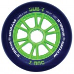 Atom SUB-7 IQ Blue Firm Inline Speed Wheels
