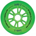 Atom SUB-7 IQ Green XFirm Inline Speed Wheels