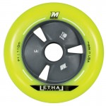 Matter LETHAL II F1 Yellow Inline Speed Wheels