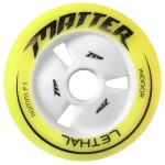 Matter LETHAL Inline Speed Wheels F1 Yellow 100mm, 110mm, 125mm (2019)