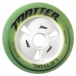 Matter LETHAL Inline Speed Wheels F2 Green 100mm, 110mm, 125mm