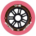 Atom ONE Pink 85A Spoke Core Inline Road Speed Wheels
