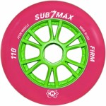 Atom SUB-7 Max Pink Firm Inline Speed Wheels
