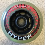Hyper HYPERformance 82A 80mm 688 Micro Hub Inline Road Speed Wheels (Closeout)